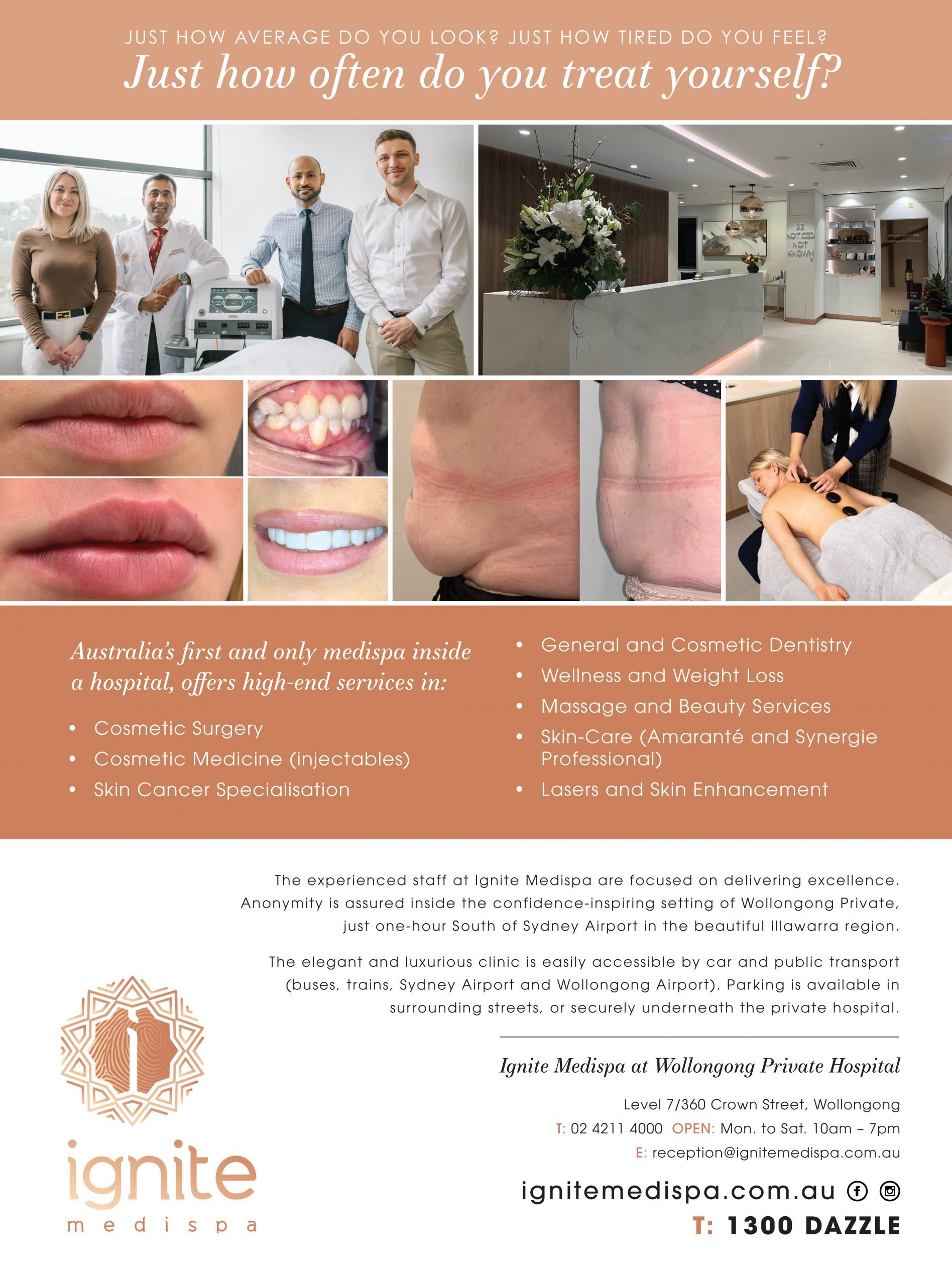 Media, Ignite MediSpa Wollongong | Cosmetic Surgery, Dentistry, Spa & Beauty, Wellness & More