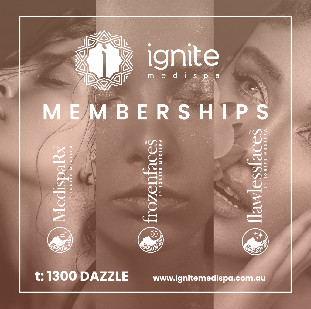 New Ignite Medispa Membership Programs, Ignite MediSpa Wollongong | Cosmetic Surgery, Dentistry, Spa & Beauty, Wellness & More